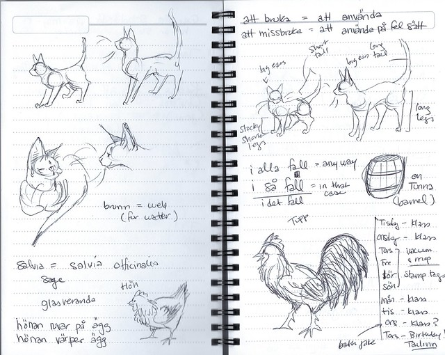 cats+chickens-sketch