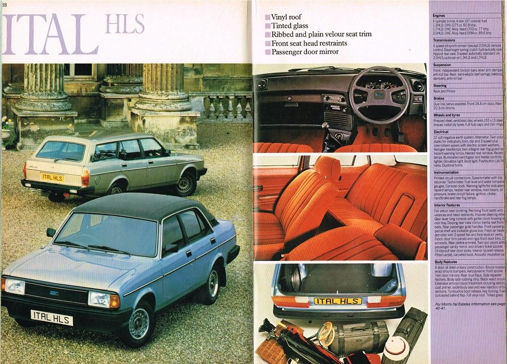 Austin Morris Rover Triumph Jan '82 038-039 Ital HLS | Flickr