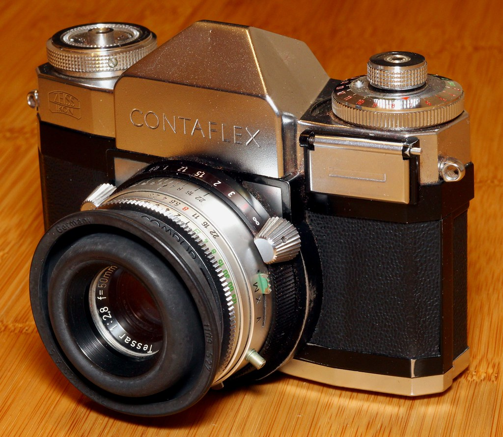 Zeiss Ikon Contaflex IV | I have created a new Flickr group