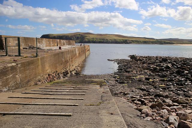 Old harbour at Portskerra