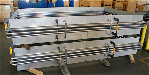 Custom Designed Rectangular Expansion Joints for a Chemical Plant in Texas