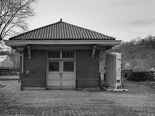 vandergrift pennsylvaniarailroad railroadstation westmorelandcounty