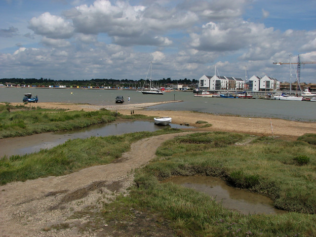 Brightlingsea from Point Clear