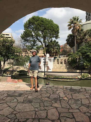 San Antonio - Riverwalk pierre at Villita | by Pierre Yeremian
