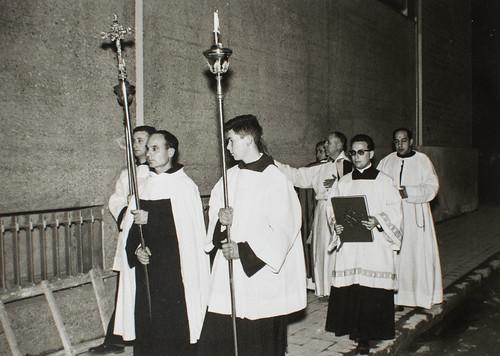 25 de marzo de 1965 - Día de la inauguración [5] - Provincial, Definitorio, todos los Superiores, la Provincia entera está aquí.