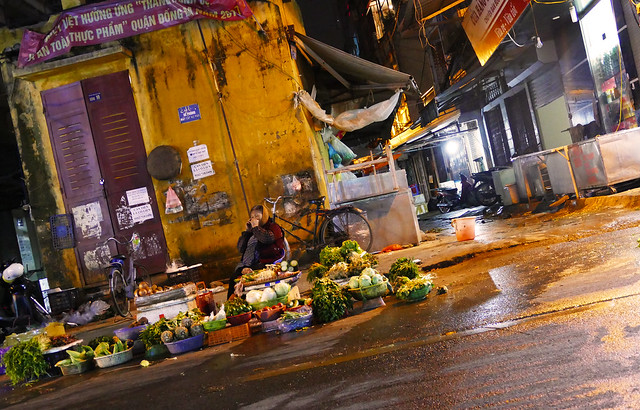 Hanoï - Street scene