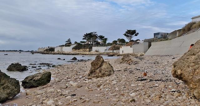 Saint Jean des Sables, Angoulins sur mer, ancienne plage de la Sapiniere