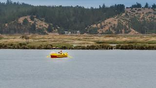 Fischerboot in der Laguna de Cahuil   by simon.monai