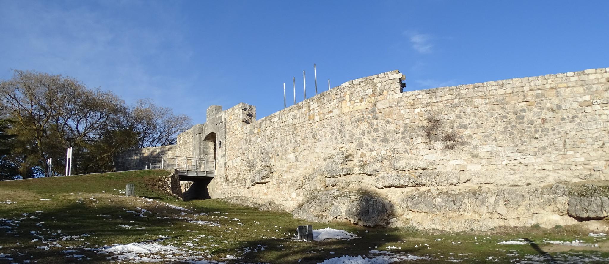 Castillo y muralla de Burgos