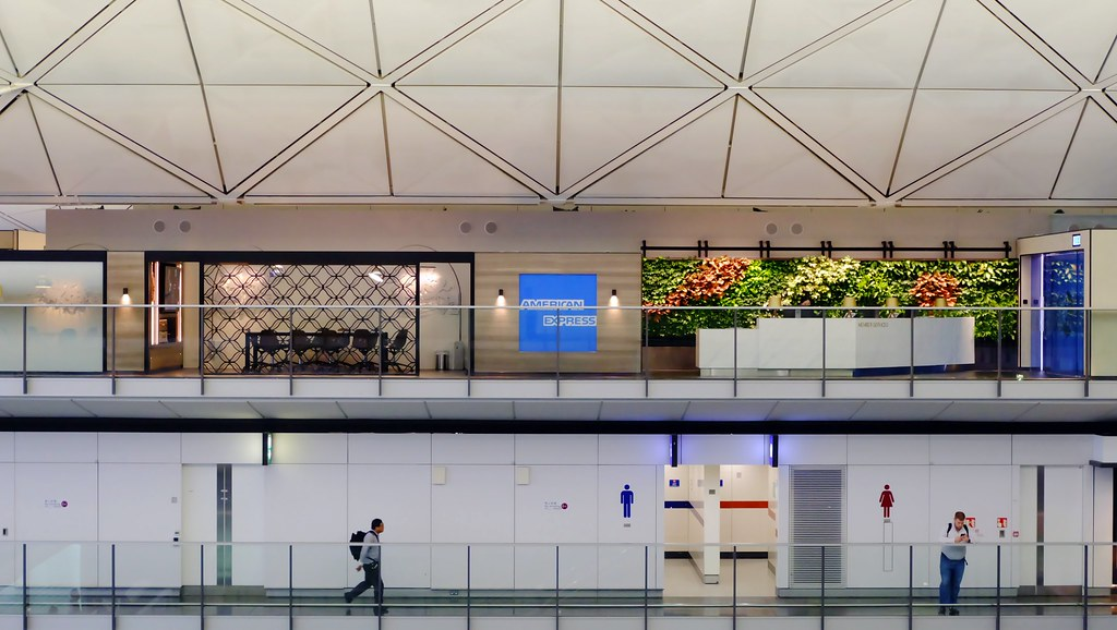 The Centurion Lounge At Hkg Airport American Express