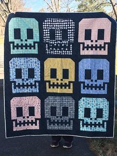 Tula Pink Sugar Skulls Quilt   by daisyeyes