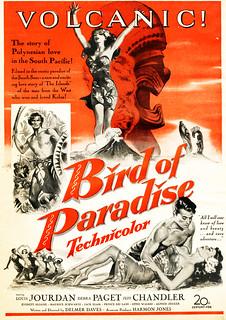 """""""Volcanic!"""" - Bird of Paradise (1951)"""