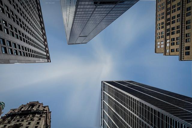 Sky pillars