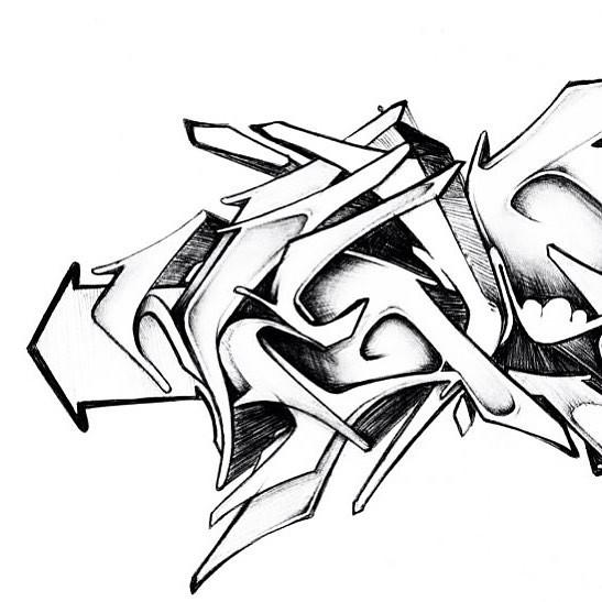 Sketch He Wild Letters Herz1 Letters
