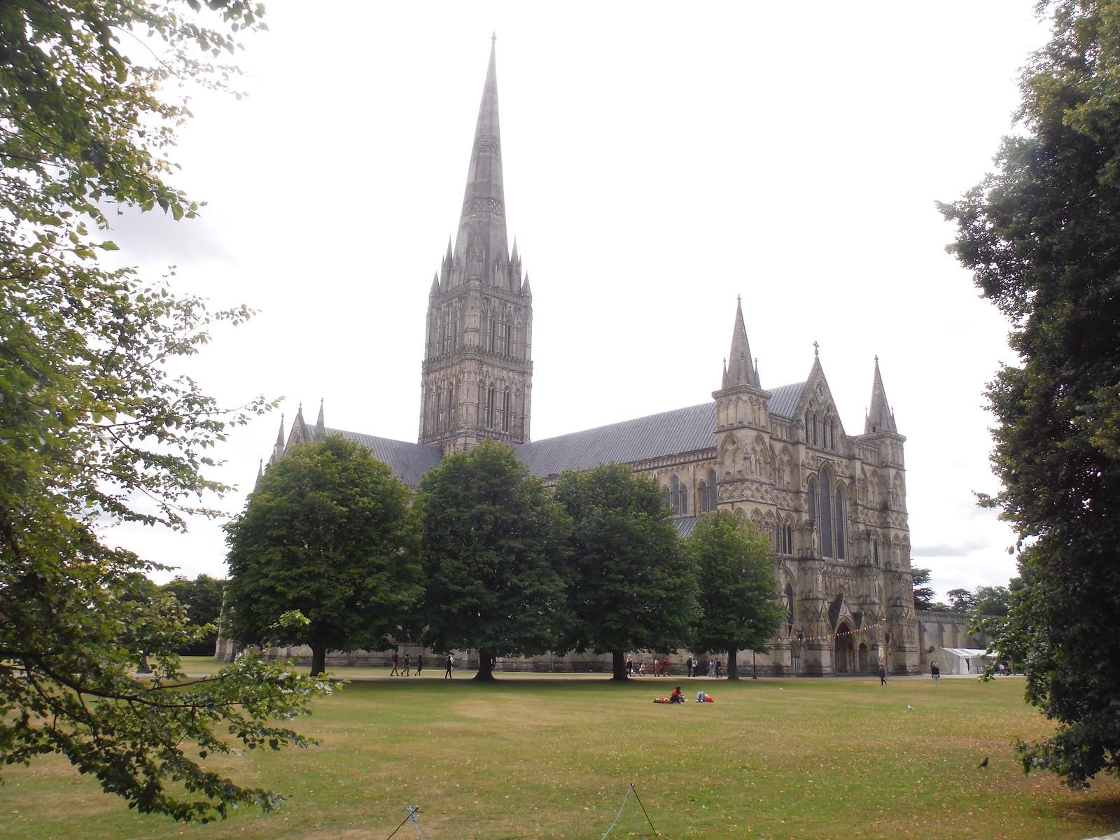 Salisbury Cathedral from Arundells SWC Walk 254 Salisbury Circular