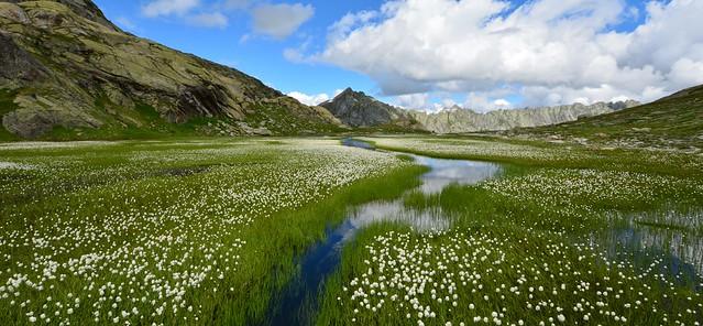 Diga Sambuco - Laghi del Naret 2320m - Lago Laiozz 2365m