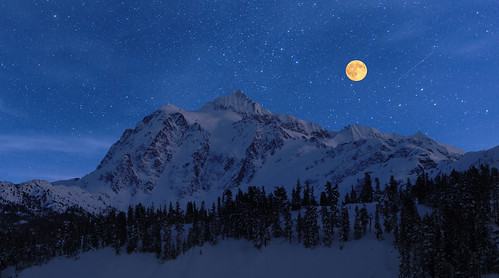 night themoon stars mountain mtshuksan wa
