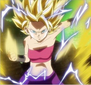 Super_Saiyan_2_Caulifla | by DReager100