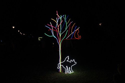 Neon Dog Park 1 | by Joe Lewit