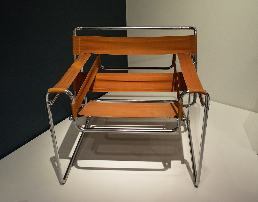 B3 chair - Marcel Breuer