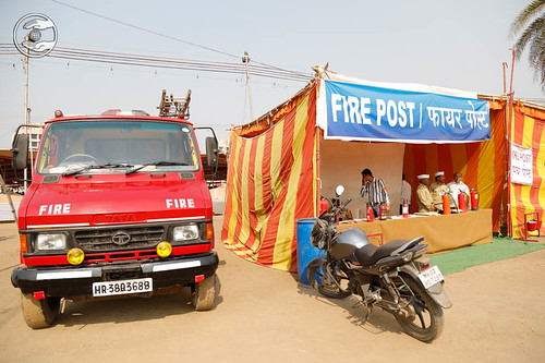 Fire Post in the Samagam Campus
