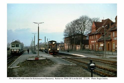 polska railways skarszewy poland