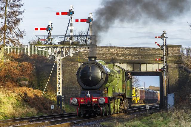 LNER B12 Class 4-6-0 No. 8572