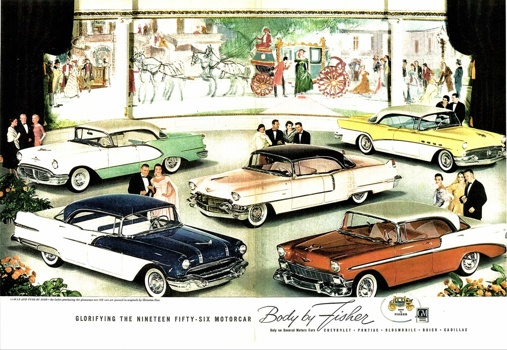 1956 GM Cars (Body by Fisher) | Alden Jewell | Flickr