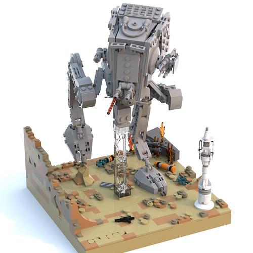 AT-ST in Jedha