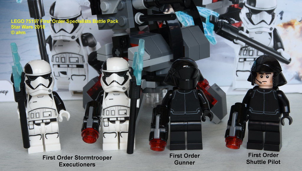 Star Wars Lego 75197 First Order Specialists Battle Pack