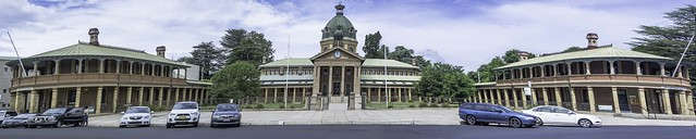 Bathurst Court House (circa 1880) and former Postal & Telegraph Offices (built 1877) - see below