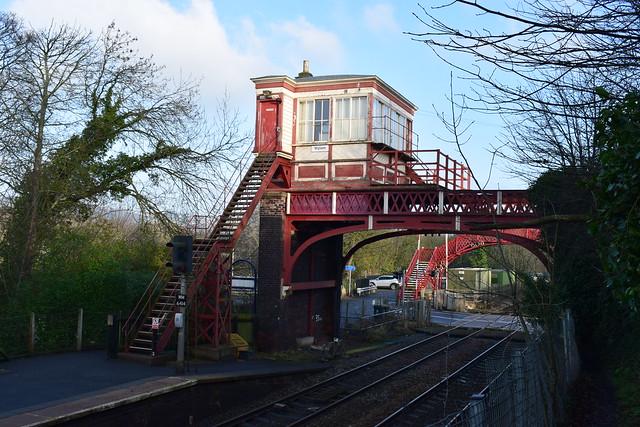 Wylam signal box, Northumberland
