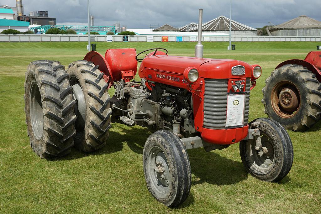 1963 Massey ferguson MK2 65 Tractor    2017 Crankup Day, Ede