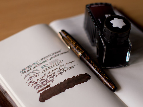 Montblanc Toffee Brown | by theserialdoodler