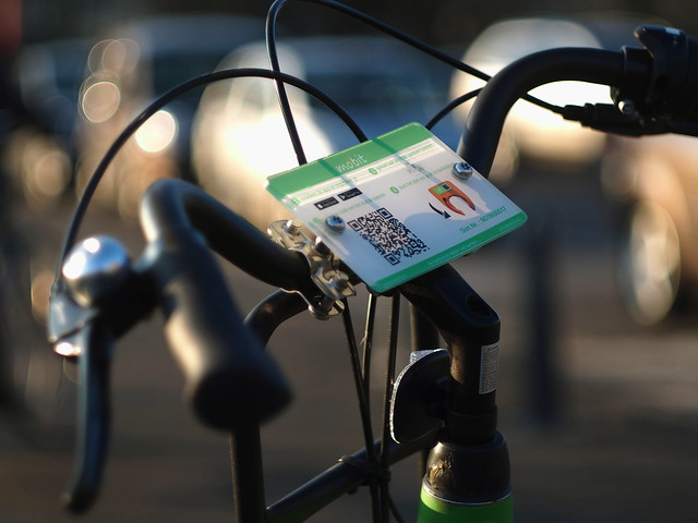 Park (your car), scan and ride