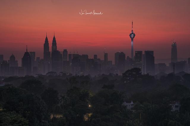 Kuala Lumpur Skyline, February 2018 [EXPLORED 10.02.2018]