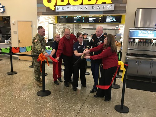 Fort Meade Qdoba Ribbon Cutting | by Army & Air Force Exchange Service PAO