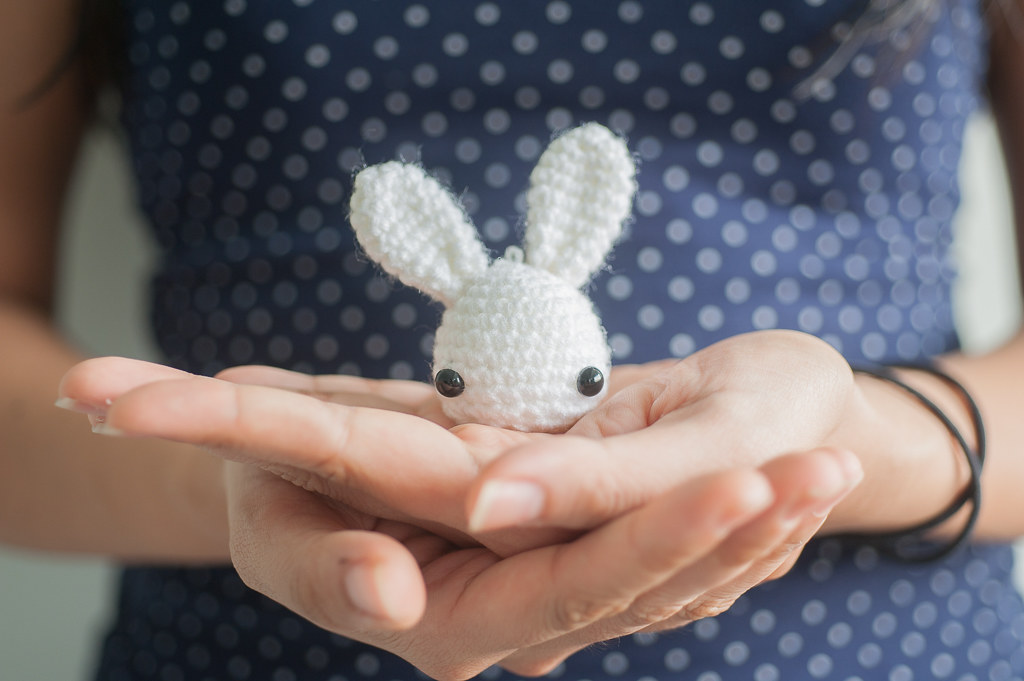 Tiny Bunny in Skirt (Free Pattern) (With images) | Easter crochet ... | 681x1024