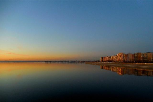 Reflection /sunset