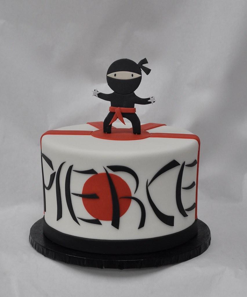 Ninja birthday cake | Jenny Wenny | Flickr