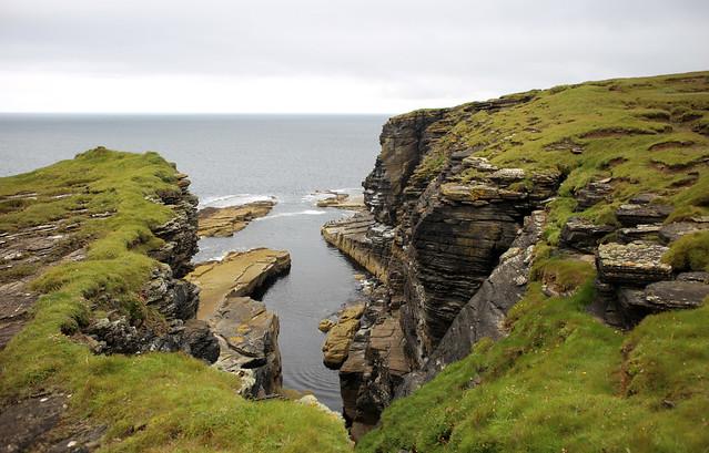 The coast near Crosskirk, Caithness