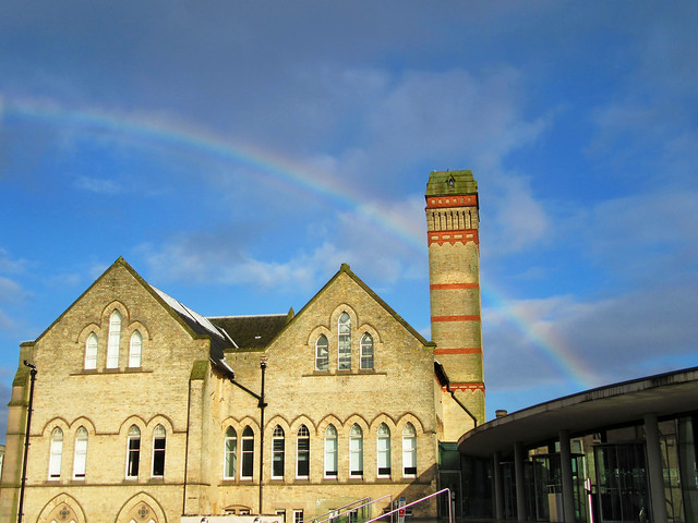 Rainbow on Goldsmith Street