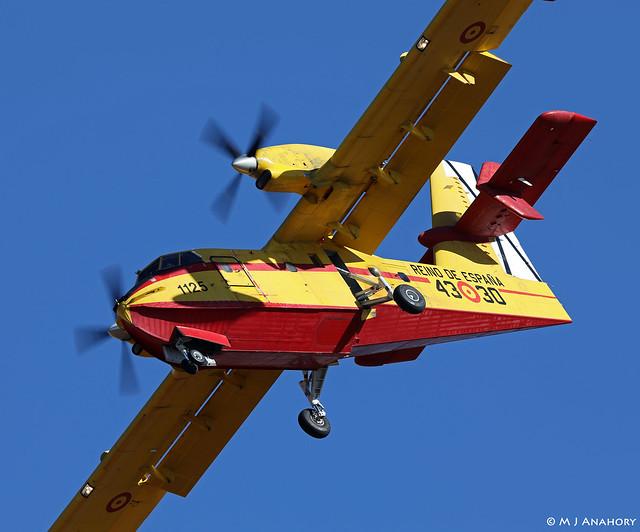 Ejército del Aire Canadair CL-415 1135/43-30, Grupo 43, Albacete AFB/LEAB