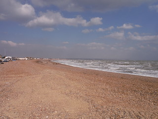 View east from Eastbourne SWC Walk 66 - Eastbourne to Hastings via Bexhill
