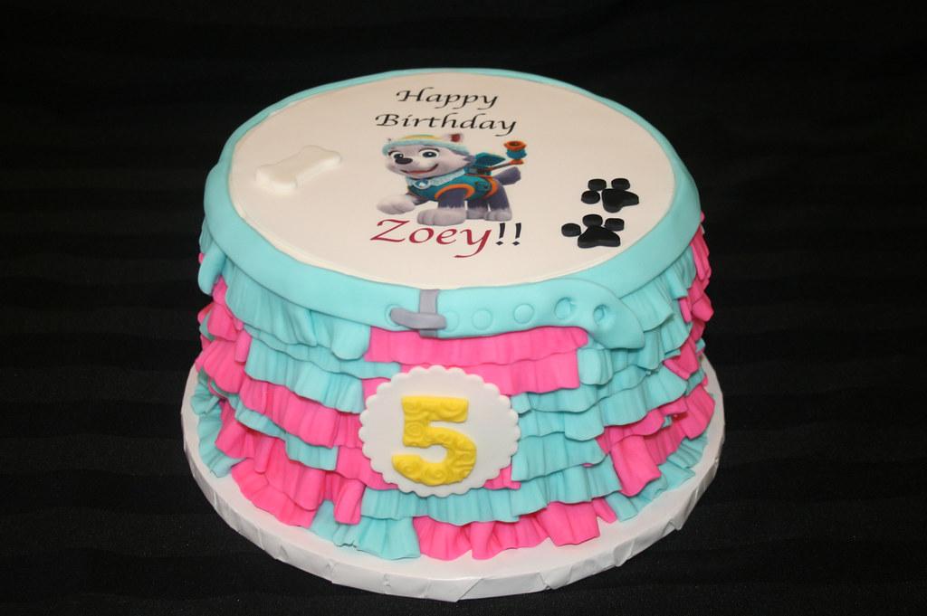 Phenomenal Paw Patrol Zoey 5Th Birthday Cake A Photo On Flickriver Funny Birthday Cards Online Bapapcheapnameinfo