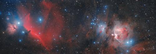 Nebulae in Orion | by Alejandro Pertuz