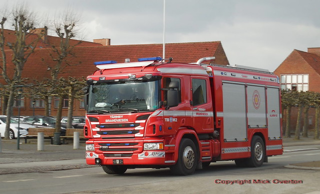 Scania P320 M2 Firetruck