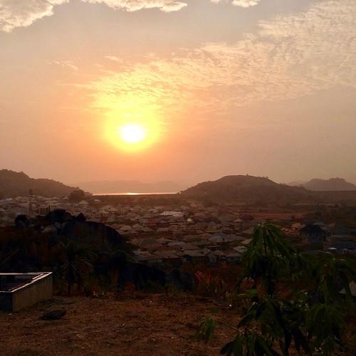 sunsetonusumalake ushafavillage abuja nigeria jujufilms