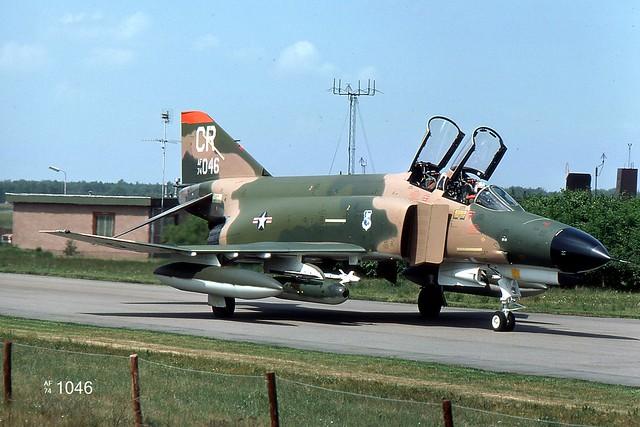 32nd TFS McDonnell-Douglas F-4E Phantom II 74-1046