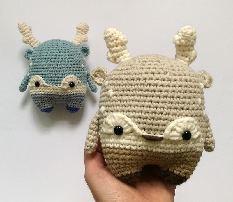 Hongo PAUL • lalylala patrón de crochet / amigurumi | Crochet ... | 695x800